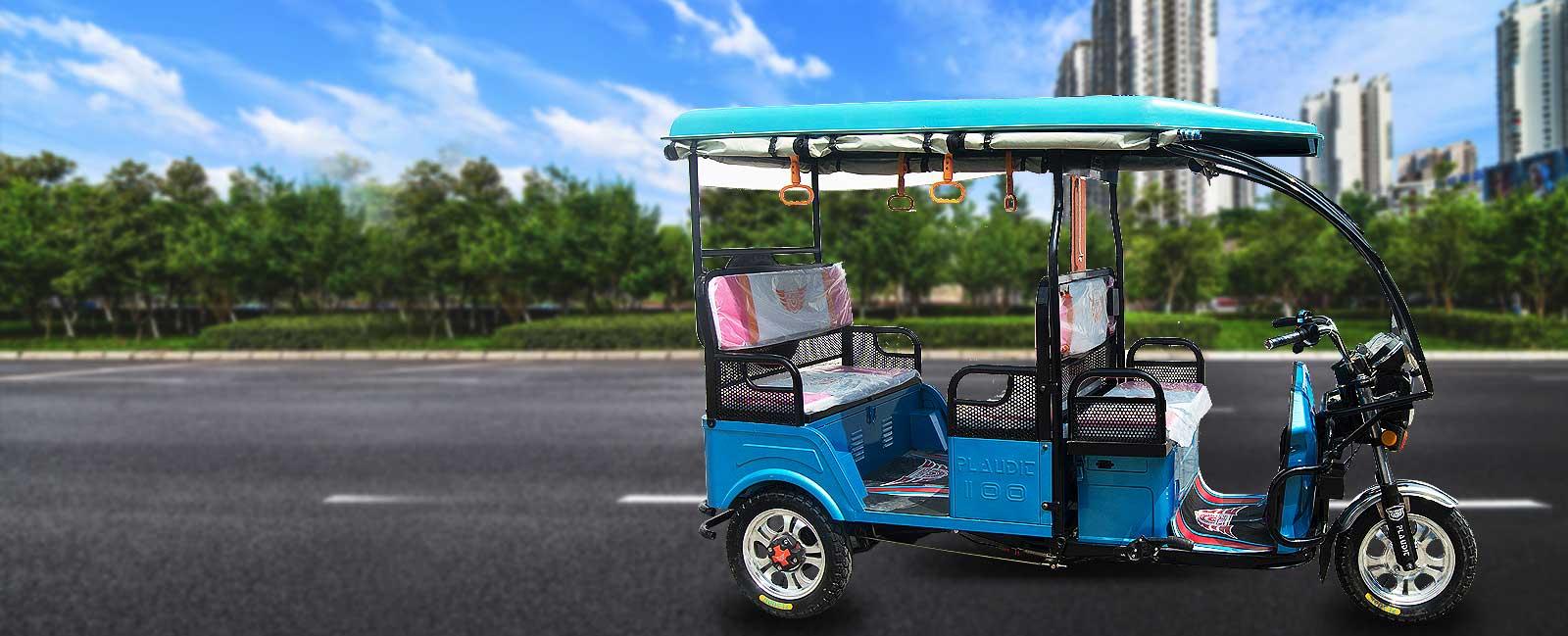 Plaudit <span>E Rickshaw</span>