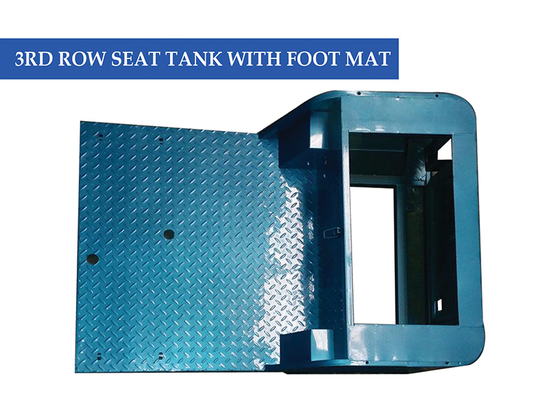 3rd Row Seat Tank With Foot Mat