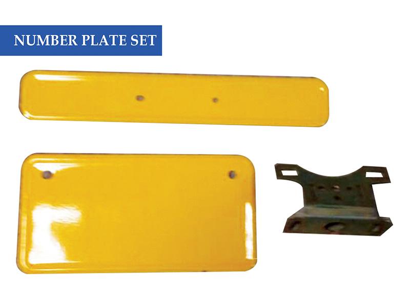 Number Plate Set