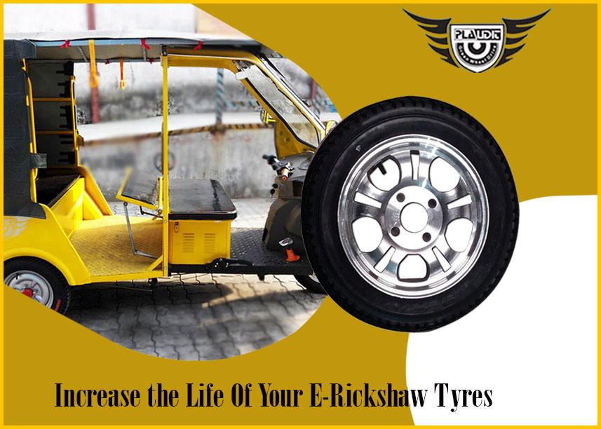 e rickshaw tyre maintenance