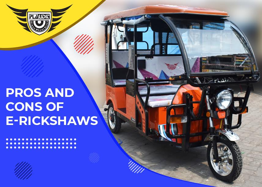 Pros And Cons of E-Rickshaws
