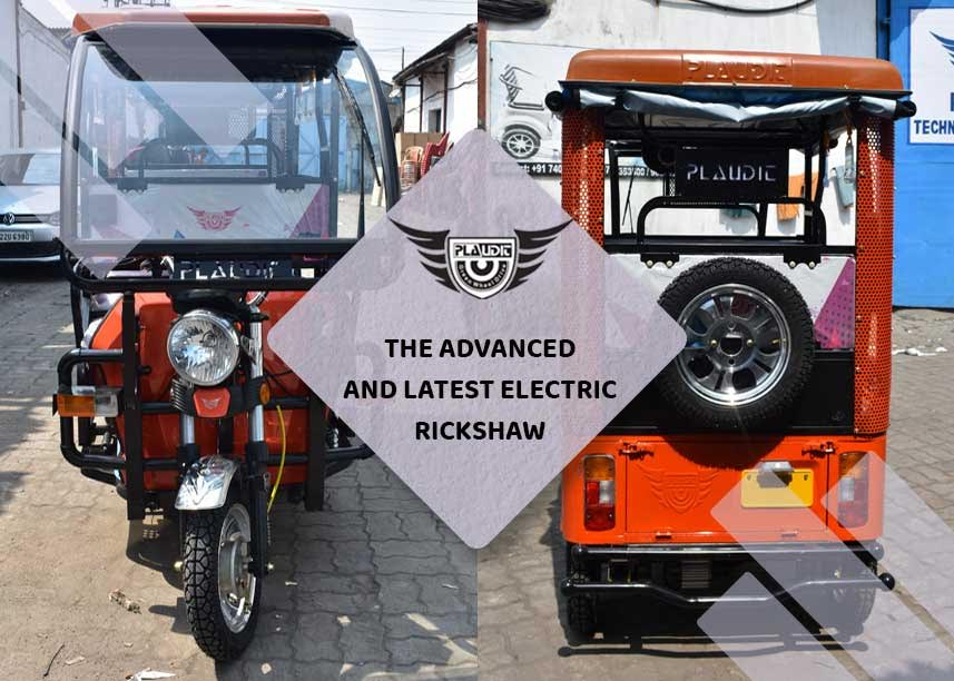 The Advanced And Latest Electric Rickshaw